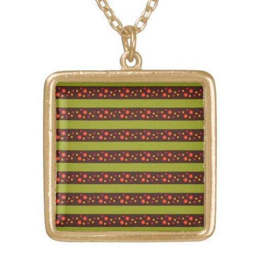 Rayas verdes claras modernas y modelo rojo del cír grimpolas