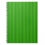 Rayas - verdes claras y Británicos que compiten co Libros De Apuntes Con Espiral