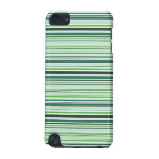 Rayas verdes frescas carcasa para iPod touch 5