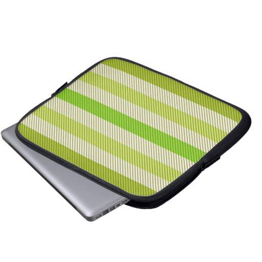 Rayas verdes manga computadora