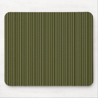 Rayas verdes tapete de ratones