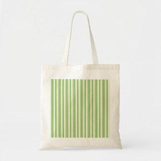 Rayas verdes y poner crema retras del toldo bolsas de mano