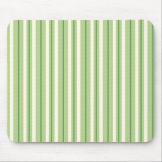Rayas verdes y poner crema retras del toldo mousepads