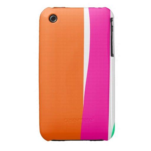 Rayas verticales iPhone 3 Case-Mate cárcasa