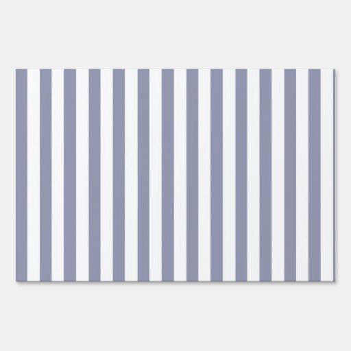 Rayas verticales Gris-Azules; Rayado