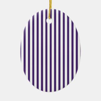Rayas verticales púrpuras ornamentos de reyes