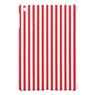 Rayas verticales rojas
