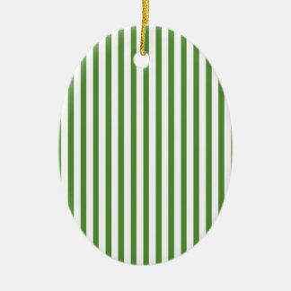 Rayas verticales verdes ornato