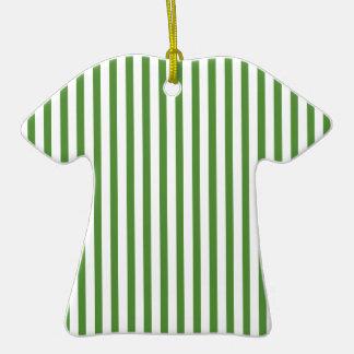 Rayas verticales verdes ornamente de reyes