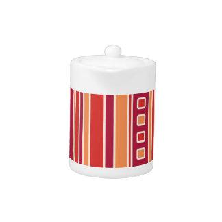 Rayas y cajas modernas de la granada