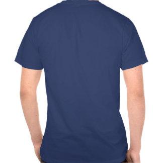 Rayas y camiseta del azul real jueces de línea