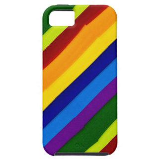 Rayas y colores en el iPhone 5/5S, ambiente iPhone 5 Fundas