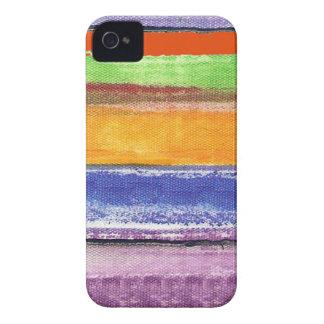 rayas y colores iPhone 4 funda