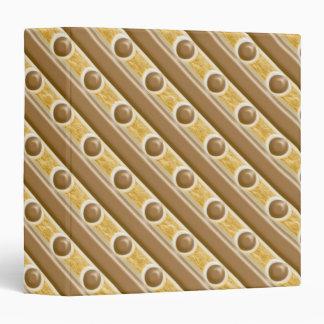 """Rayas y puntos - melcocha del chocolate carpeta 1 1/2"""""""