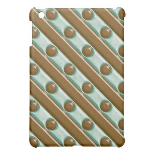 Rayas y puntos - menta del chocolate