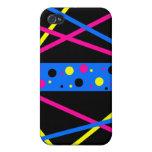 Rayas y puntos oscuros iPhone 4/4S fundas