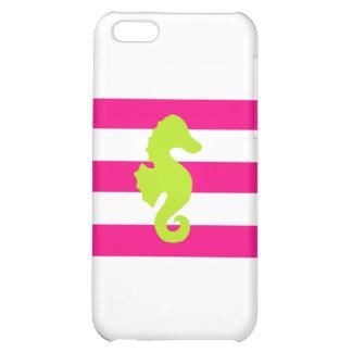 Rayas y Seahorse rosados y verdes