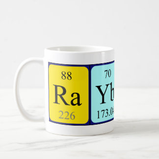 Rayburn periodic table name mug mugs