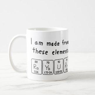Rayburn periodic table name mug coffee mug