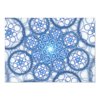 "Raydianze AP-Ions (Blue) 5"" X 7"" Invitation Card"