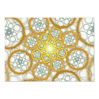 "Raydianze AP-Ions (Yellow/Blue) 5"" X 7"" Invitation Card"