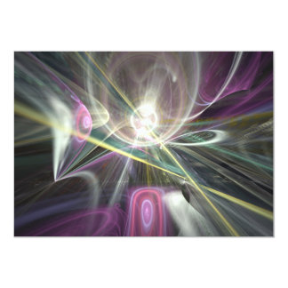 "Raydianze AP-Ohm 5"" X 7"" Invitation Card"