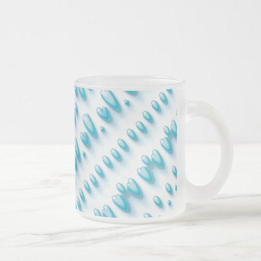 Raydianze UF-Dyen 10 Oz Frosted Glass Coffee Mug