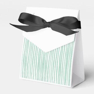 Raye la línea cajas para regalos
