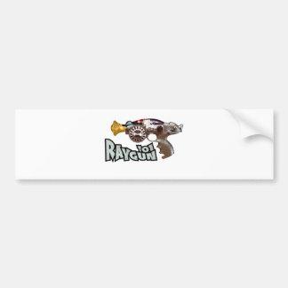 Raygun 101 bumper stickers