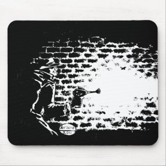 Raygun Noir mouse pad, artwork by Michael Avolio Mouse Pad