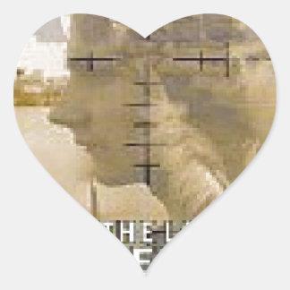 Raygun Pegatina En Forma De Corazón
