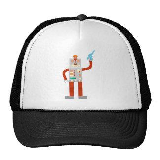 Raygun Robot Invasion Trucker Hats