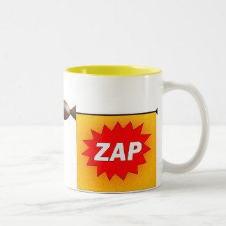raygun Two-Tone coffee mug