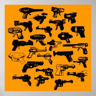 Rayguns Poster