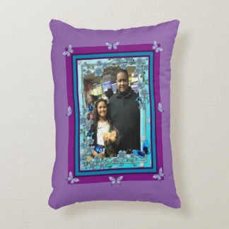 Raymond Bermudez Forever In Hearts Loving Memory Accent Pillow