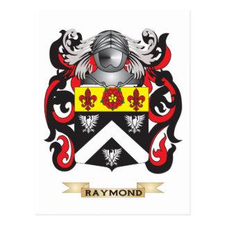 Raymond Coat of Arms (Family Crest) Postcard