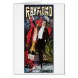 Raymond el acto mágico del gran del ~ vintage del  tarjeton