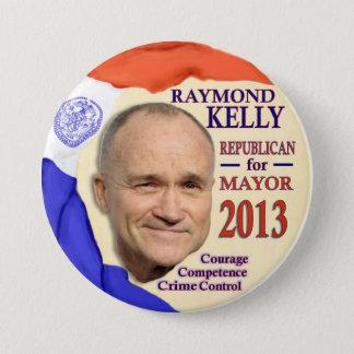 Raymond Kelly for NYC Mayor 2013 Pinback Button
