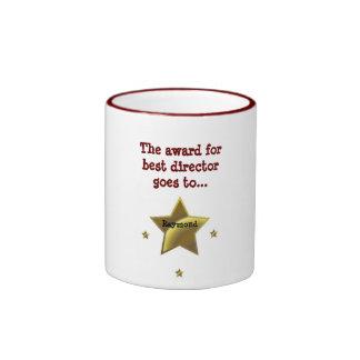 RAYMOND: The Award For Best Director Ringer Coffee Mug