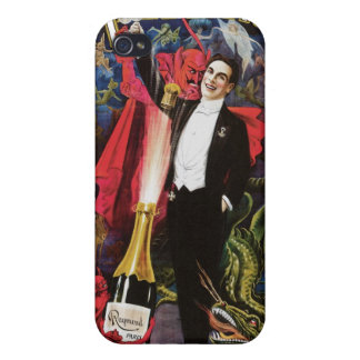 Raymond The Great ~ Magician Vintage Magic Act iPhone 4 Case