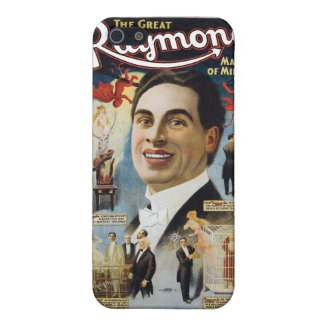 Raymond The Great ~ Miracles Vintage Magic Act iPhone SE/5/5s Case