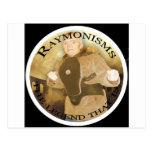 Raymonisms Post Cards