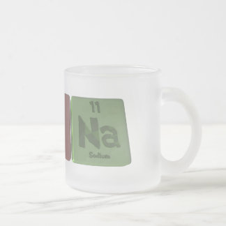 Rayna  as Radium Yttirum Sodium Frosted Glass Coffee Mug