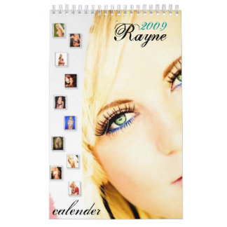 Rayne, 2009, calender wall calendars