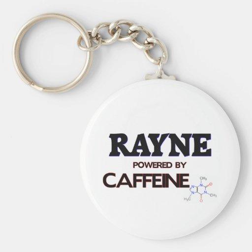 Rayne accionó por el cafeína llavero redondo tipo pin