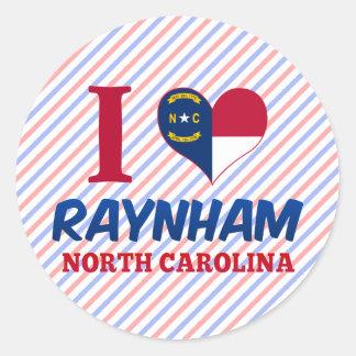 Raynham Carolina del Norte Pegatinas