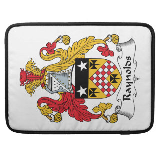 Raynolds Family Crest Sleeves For MacBook Pro