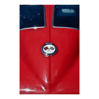 Rayo 1963 de Sting del Corvette Posters
