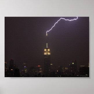 Rayo #1 del Empire State Building Impresiones