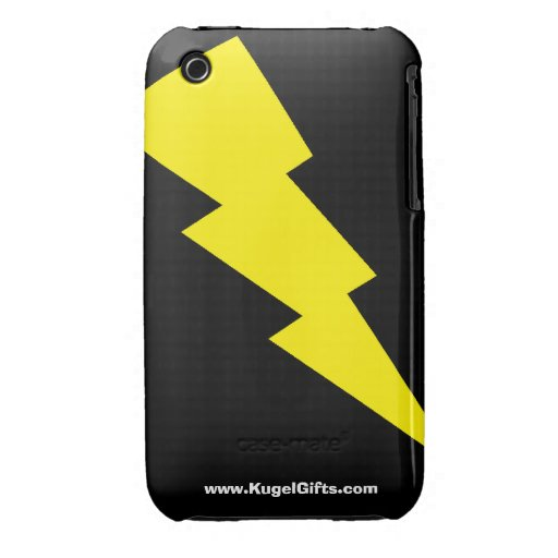 """""""Rayo"""" 3G/3GS Barely There iPhone 3 Fundas"""